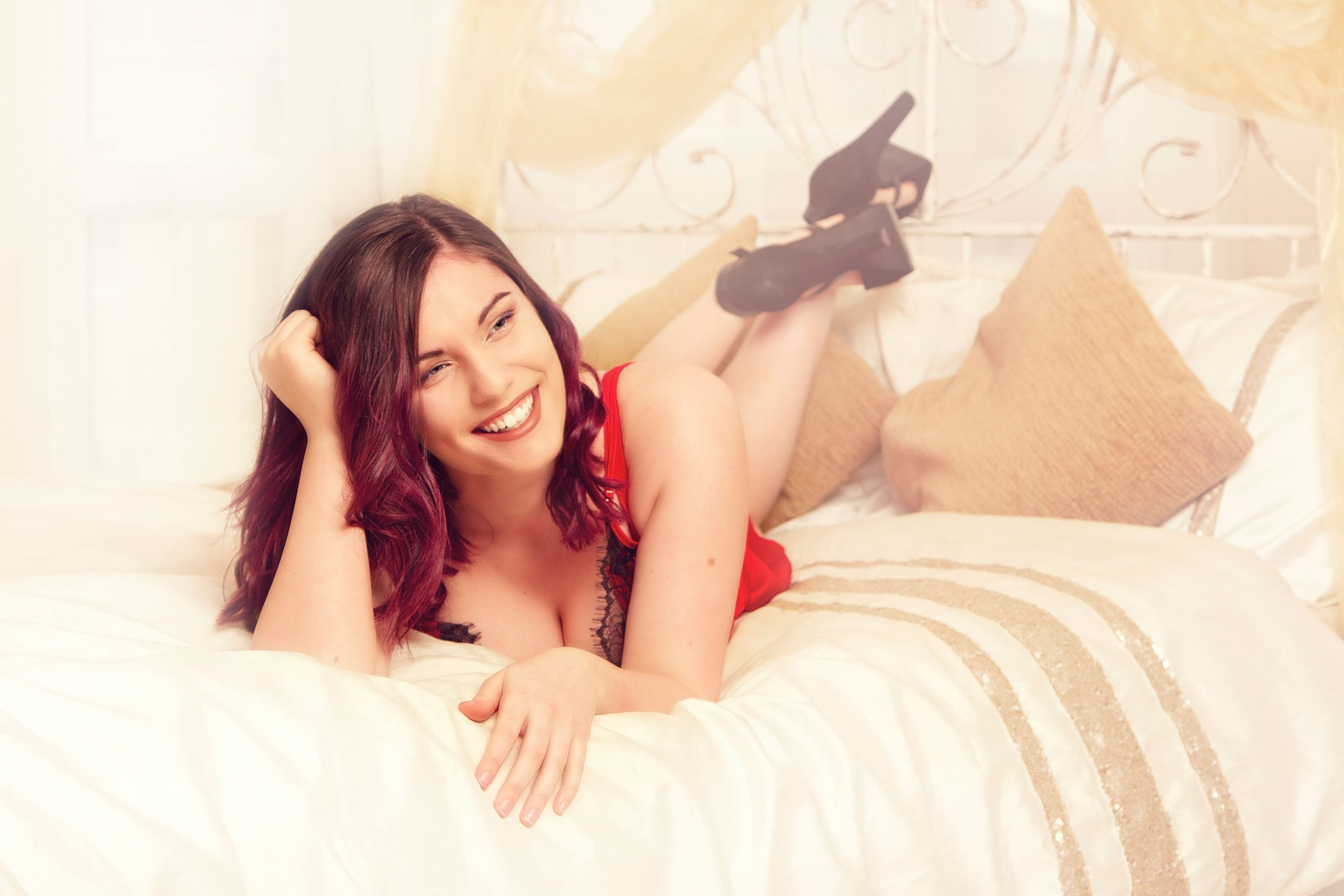 Boudoir and makeover photography in northumberland