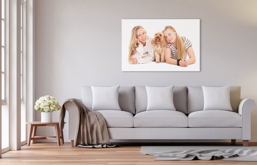 photo canvas printing in northumberland