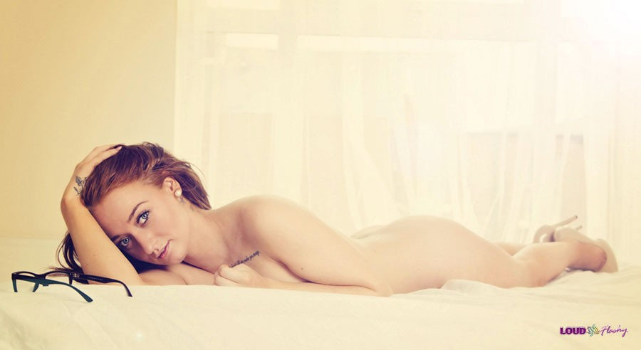 Boudoir photography at Loud and Flashy in Northumberland